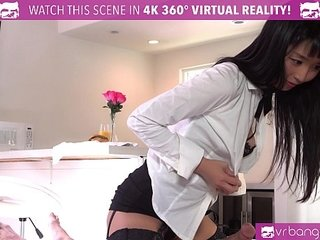 VRBangers.com Room service Japanese girl gets FUCKED HARD by room guest
