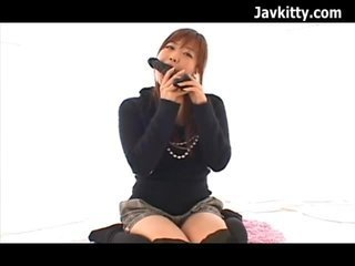 Japanese Teen Lovely Cock Sucker