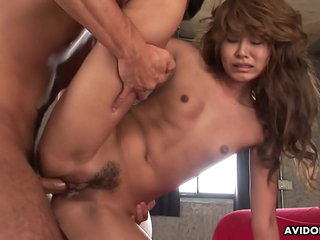Japanese girl, Hitomi Mano had hardcore sex, uncensored