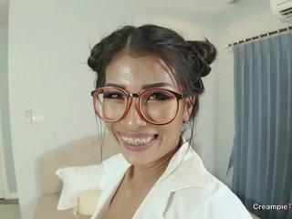 Asian MILF School Creampie