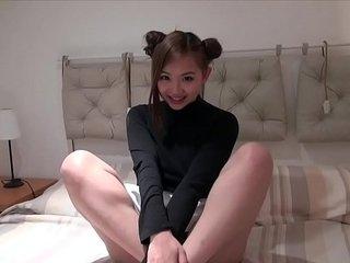 Handsome British Asian teen Harriet Sugarcookie masturbates